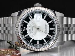 Rolex - Datejust 116200 Cassa: acciaio - 36 mm Vetro: zaffiro Colore quadrante: argento Bracciale: oyster Chiusura: oysterclasp con easylink Movimento: automatico