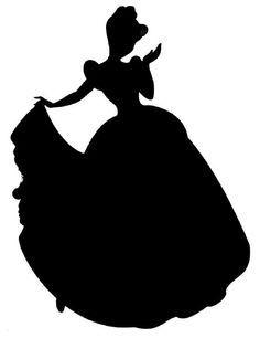 disney princess silhouette cinderella - Google Search