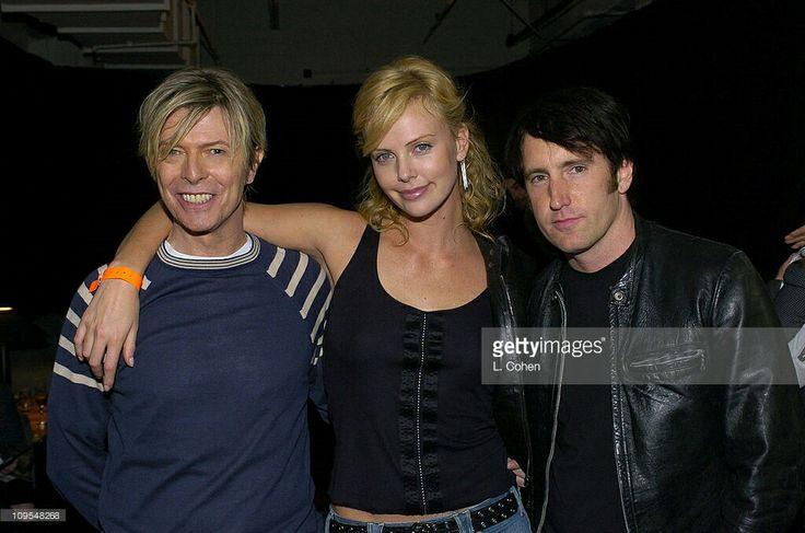 David Bowie, Charlize Theron & Trent Reznor.