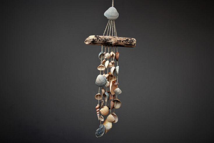 Traumfänger & Mobiles - Buntes Muschel-Mobile Windspiel - ein Designerstück von Prinzessin-Schluesselblume bei DaWanda