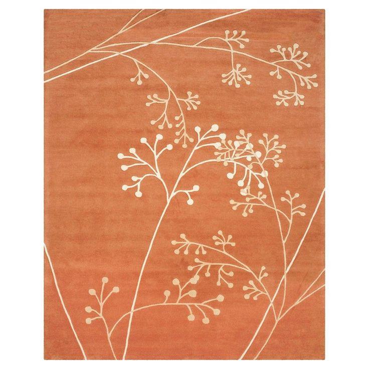 "Safavieh Walsall Area Rug - Rust (Red) (9'6"" X 13'6"" )"