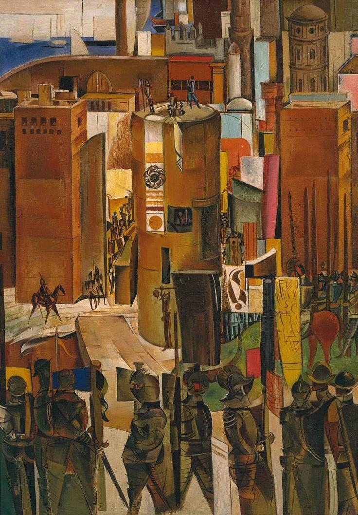 Wyndham Lewis, 'The Surrender of Barcelona' 1934-7