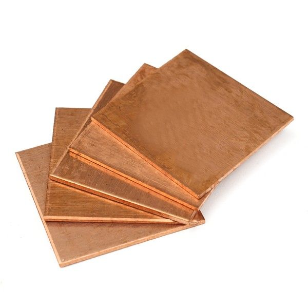 5pcs 20 20 1 2mm Heat Sink Copper Shim Cooling Plate Thermal Pads Raw Materials From Industrial Scientific On Banggood Com Copper Sink Copper Tools And Accessories