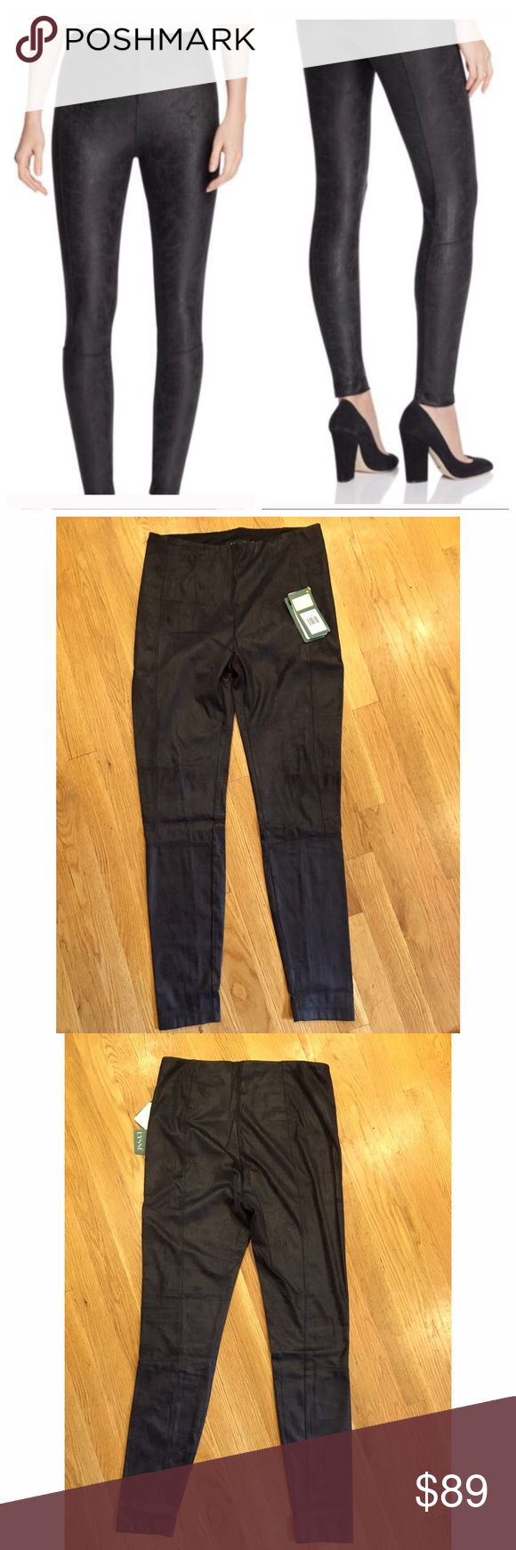 NWT Lysse textured faux leather leggings med Gorgeous distressed/textured faux leather leggings- looks like genuine leather. Color is black (but looks like a deep charcoal) size medium but could also fit small lysse Pants Leggings