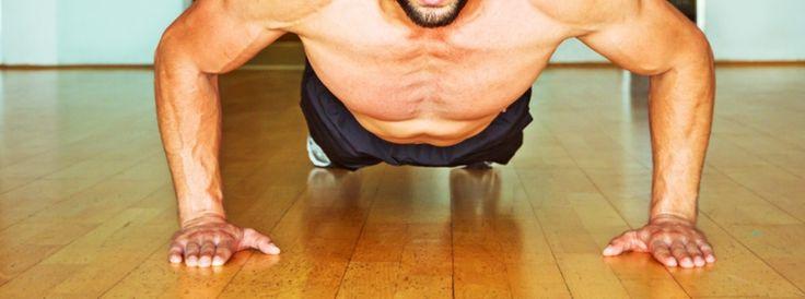 Liegestütze lernen: Erst Liegestützen richtig machen, dann mit dem Trainingsplan 100 Liegestützen in 5 Minuten schaffen. Jeden Tag ein Liegestütz Training, für den Muskelaufbau und zum Abnehmen.