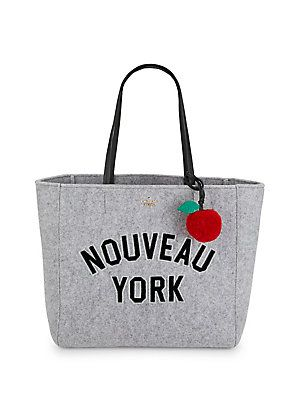 Kate Spade New York Hallie Patched Front Tote