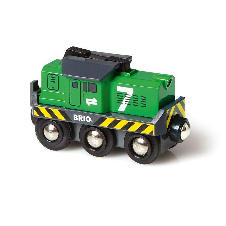BRIO - Wooden Freight Battery Engine
