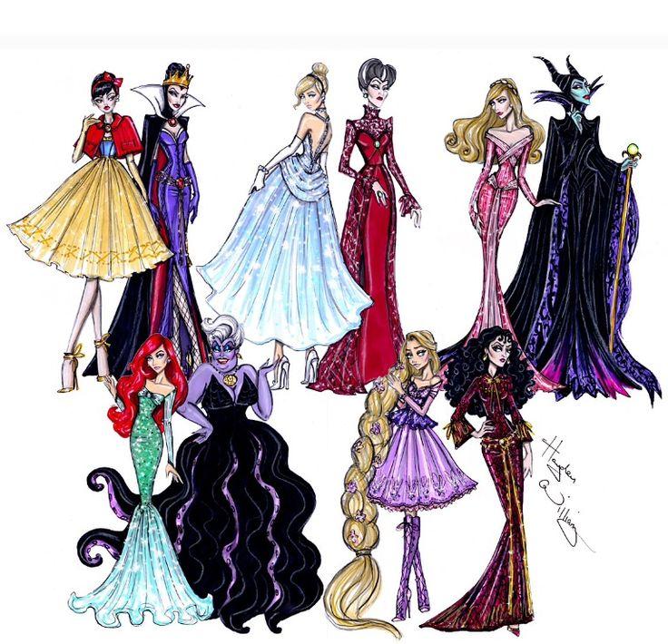 Disney Divas 'Princess vs Villainess' collection by Hayden Williams – Isabel Isabel