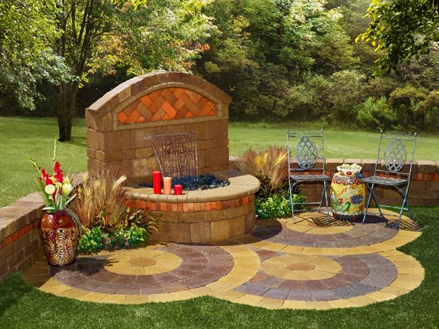 38 Best Images About Paver Water Feature On Pinterest