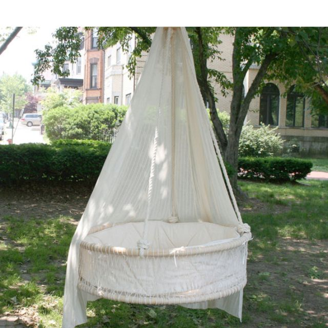 Outdoor baby hammock