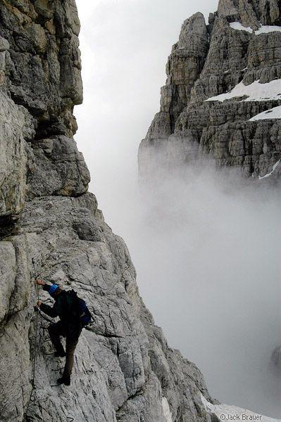 Brenta Via Ferrata : Dolomites, Italy : Mountain Photography by Jack Brauer, province of South Tyrol , Trentino-Alto Adige