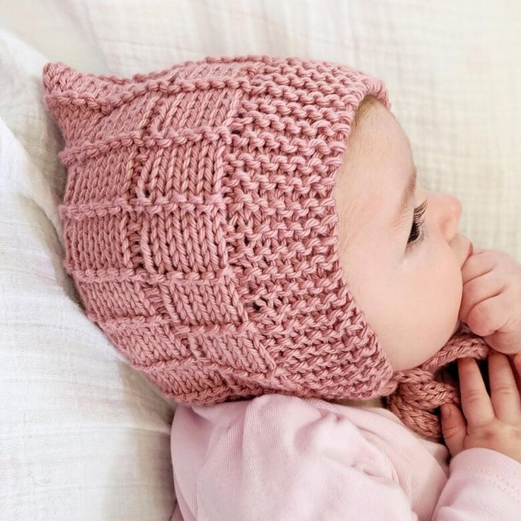 Ravelry Little Ladders Baby Beanie Hat Pattern By Mary Edwards