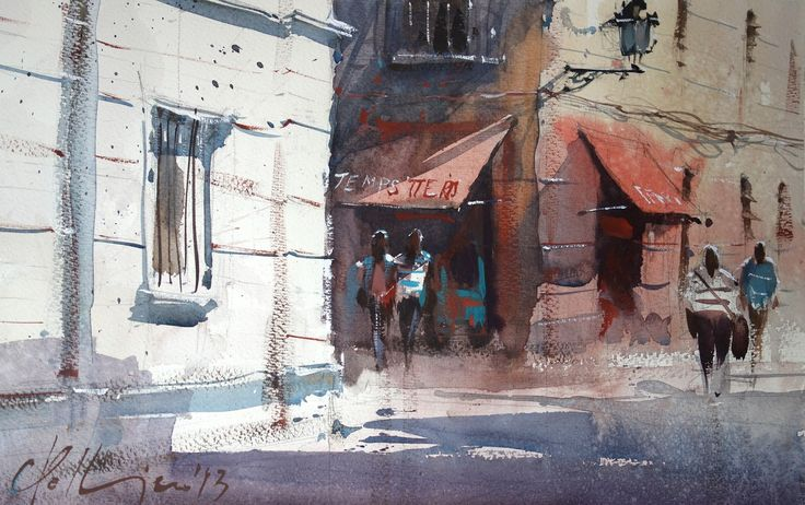 Watercolors Carles Pellejero