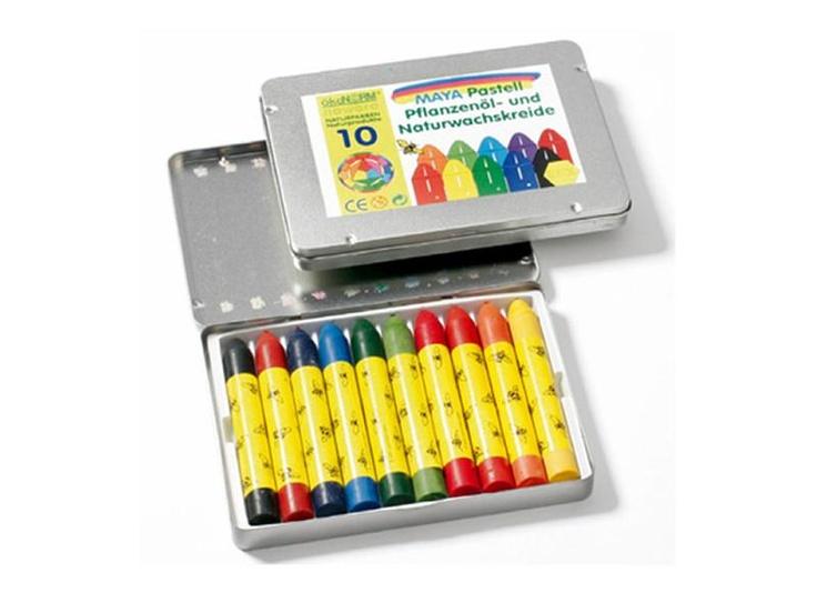 Nawaro, Maya Beeswax Crayons (set of 10)