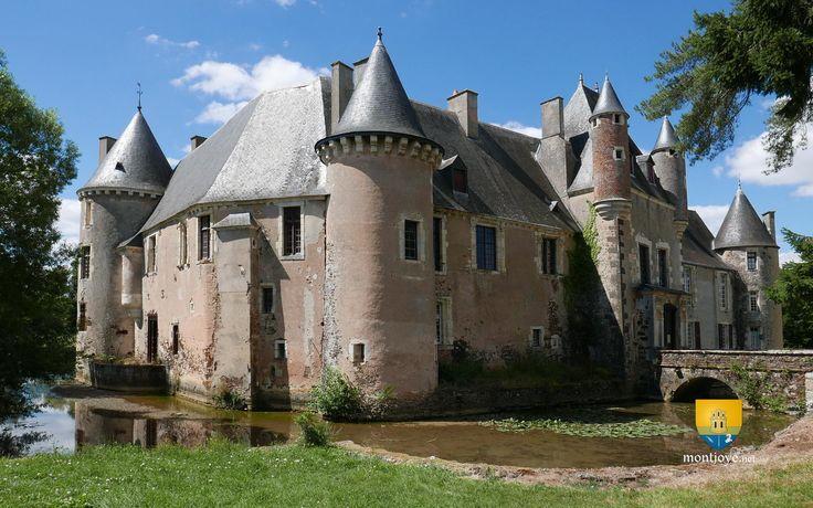 Château de Boucard - Patrimoine du Centre Val-de-Loire - 18260 Le Noyer, montjoye.net
