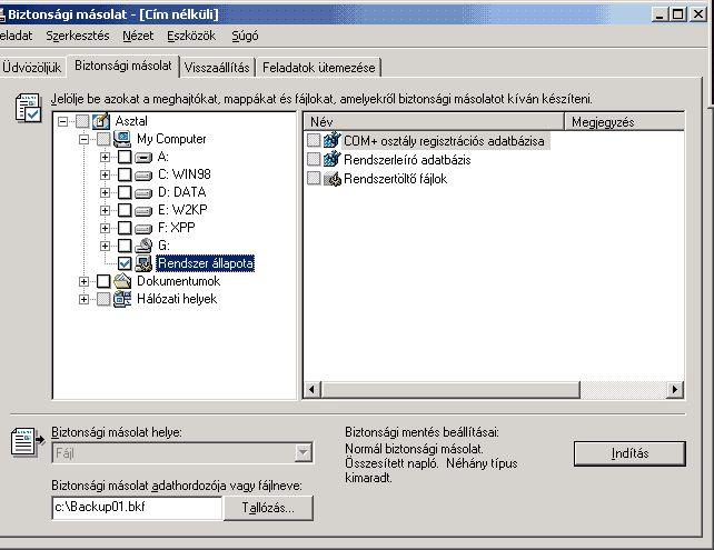 Windows - A regisztrációs adatbázis mentése és helyreállítása  - Software Online szoftverfejlesztői magazin