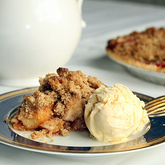 Betty Crocker French Apple Pie with Ice Cream