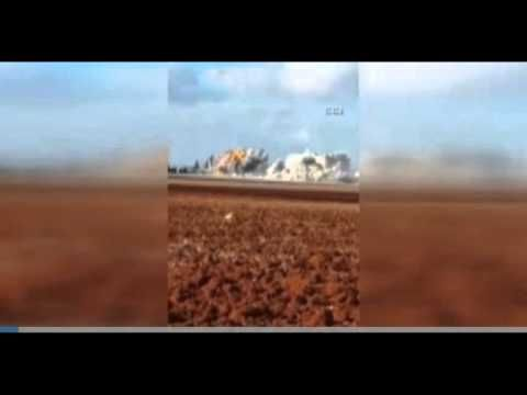 Russian Aircraft struck the bread bakery of IHH -Humanitarian Aid Founda...