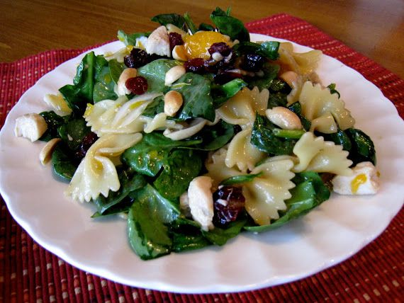 Tastes Better From Scratch: Spinach, Chicken, Bowtie Pasta Salad