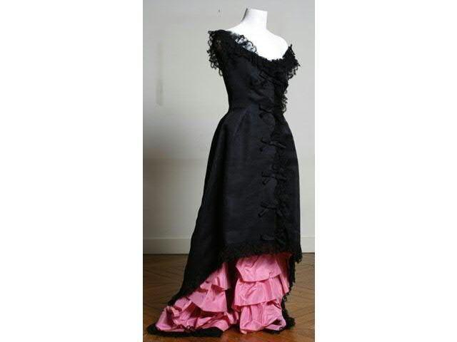 Robe Flamenco créée par Balenciaga Haute Couture, griffée et numérotée 62272. vers 1958