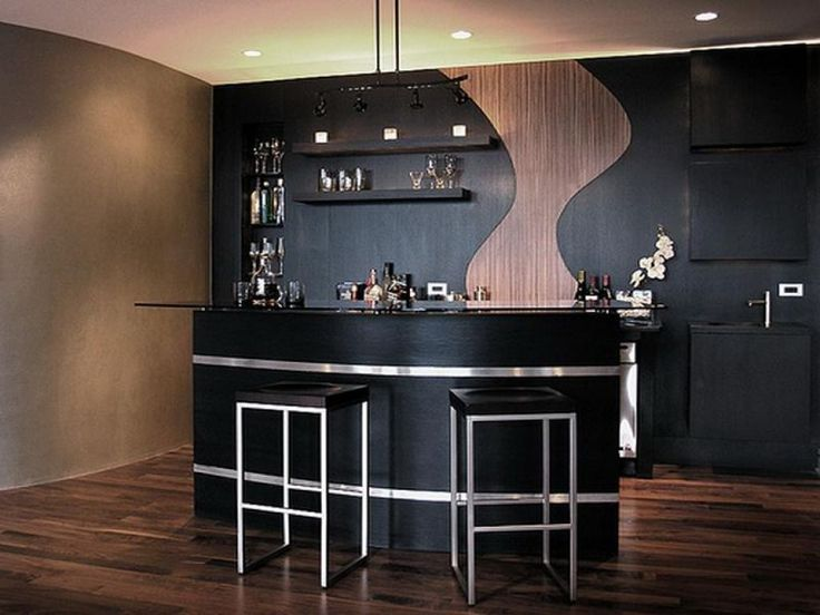17 best ideas about modern home bar on pinterest modern bar house bar and bar designs for home - House bar design ...