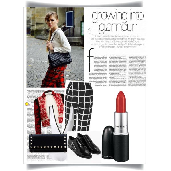 Cube by fromnorah on Polyvore featuring Givenchy, Valentino, Topshop and MAC Cosmetics