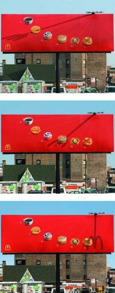 Youve done it right, McD. That's a brilliant ad.