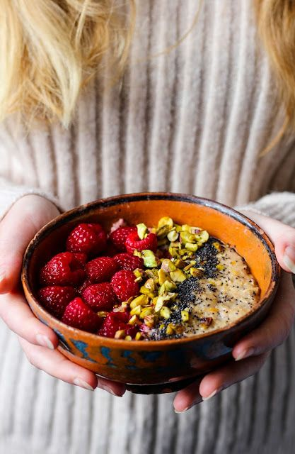 Orange and Cinnamon Spiced Poppy Seed Porridge