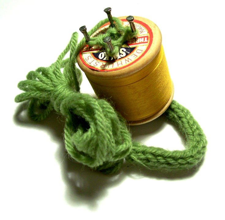 cotton reel french knitting