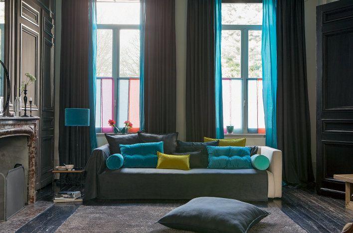 les 25 meilleures id es de la cat gorie rideaux heytens sur pinterest stores rideaux voilage. Black Bedroom Furniture Sets. Home Design Ideas