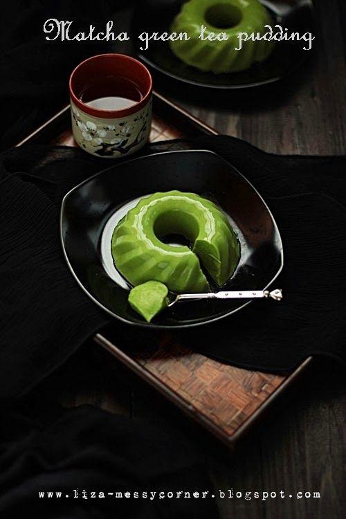 My life, my love, my food: Matcha Green Tea Pudding