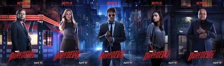 Posters Personajes Daredevil