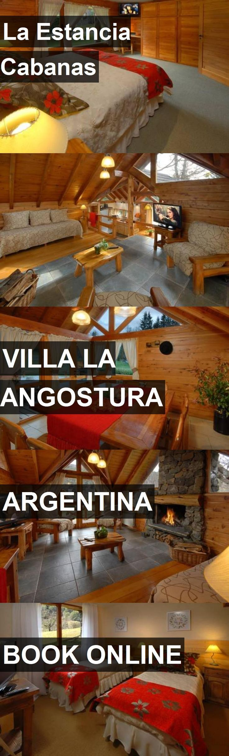 Hotel La Estancia Cabanas in Villa la Angostura, Argentina. For more information, photos, reviews and best prices please follow the link. #Argentina #VillalaAngostura #LaEstanciaCabanas #hotel #travel #vacation