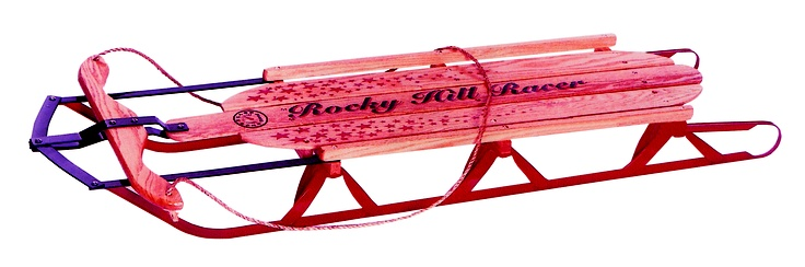 Runner >> My Little Red Metal Runner Sled | Outdoor Sports and Activities | Pinterest