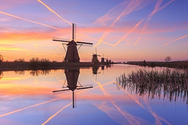 Kinderdijk, The Netherlands by Sven Broeckx on 500px
