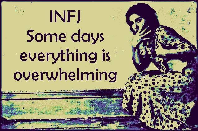 Omgosh yes.. hard for non infjs to understand.. infj. c'est moi. mcr