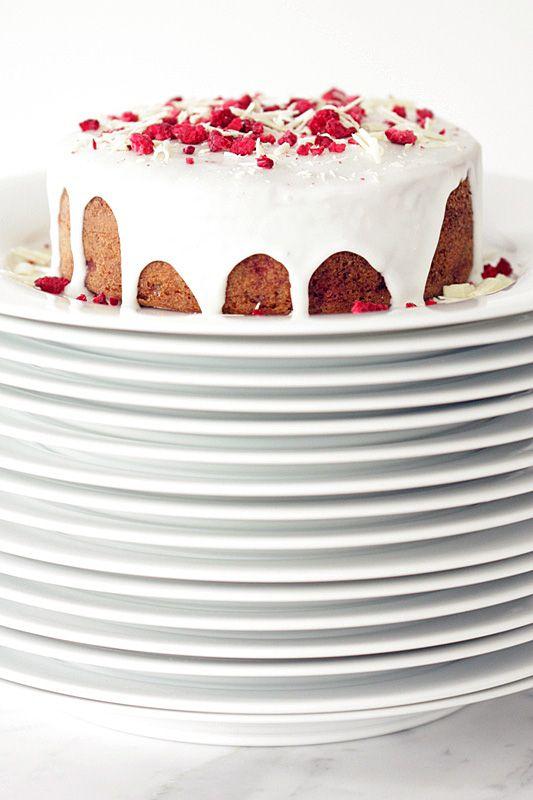 Raspberry & Almond Breakfast Cake