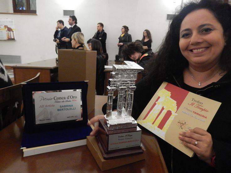 """Sabrina Bertolelli Trofeo """"Il Tempio"""" Premio Conca D'Oro - Monreale"""