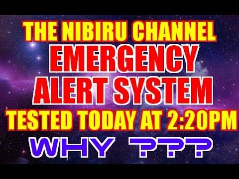 EMERGENCY ALERT SYSTEM  Suspicious Testing Begins Today September 28t...