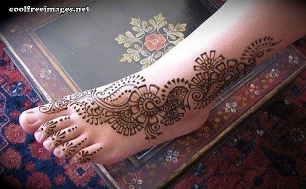 Mehndi Feet Facebook : Feet mehndi designs myspace orkut facebook graphics