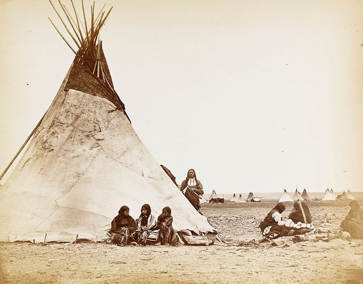 Arapaho Camp by William Stinson Soule
