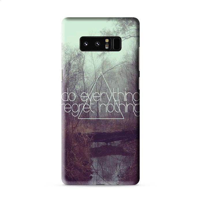 Do Everything Hipster Disney Samsung Galaxy Note 8 3D Case Caseperson