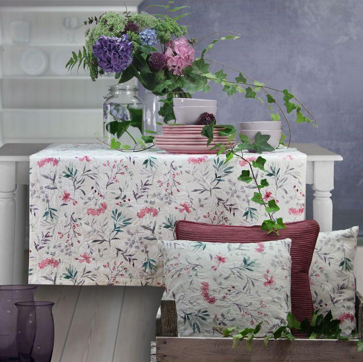 tischdecken tischl ufer kissenh llen anna von sander tischw sche. Black Bedroom Furniture Sets. Home Design Ideas