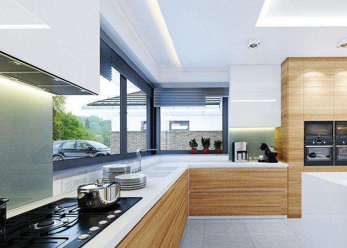 Kuchnia Z Oknem Rogowym