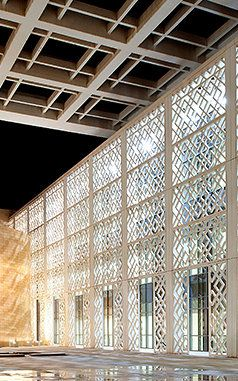 At the world's largest women's university: Princess Nora Bint Abdulrahman University, in Saudi Arabia