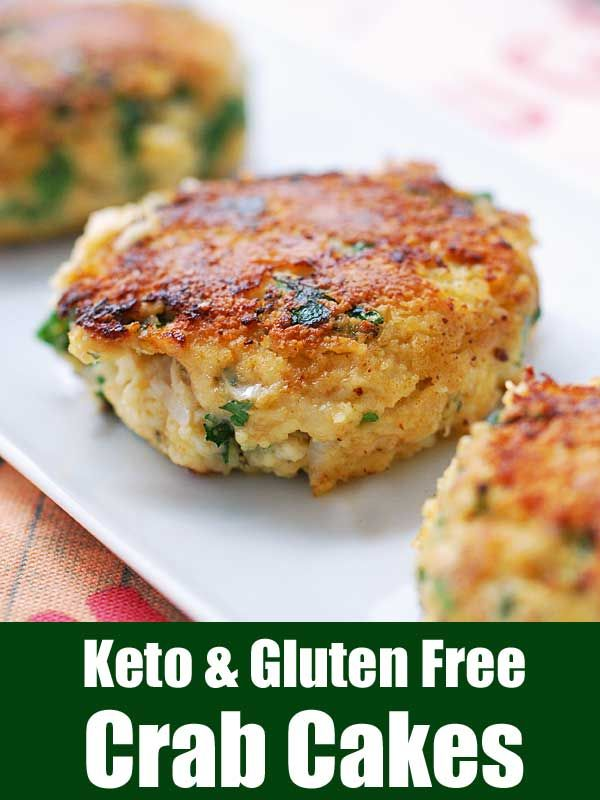 Gluten Free Keto Crab Cakes