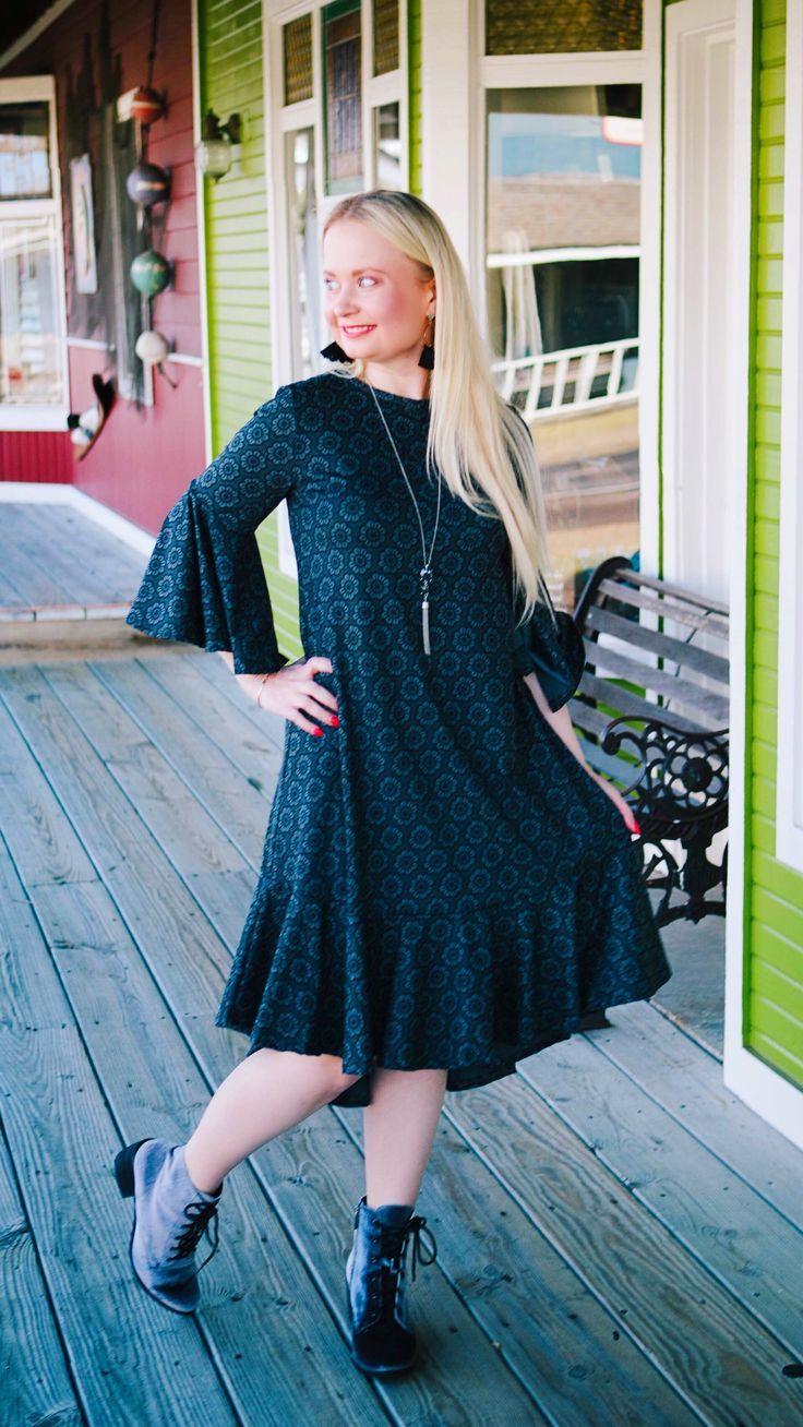 62196b142a6 LuLaRoe Maurine Dress