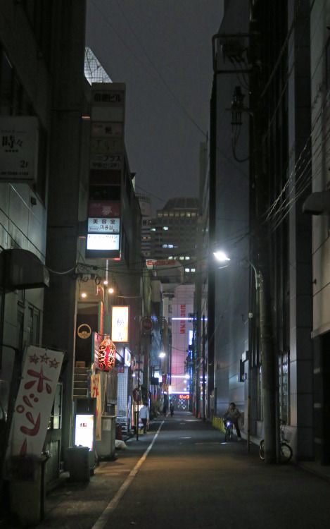a back street ,Akasaka