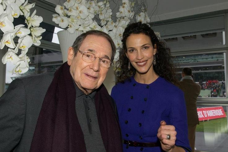 Robert Hossein et Linda Hardy