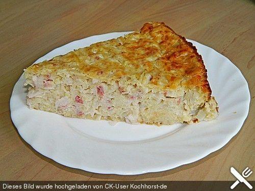 Zwiebelkuchen ohne Boden - einfach und lecker (Rezept mit Bild) | Chefkoch.de